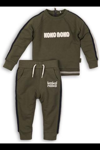 KokoNoko lasten collegepaita +  housut setti B32811