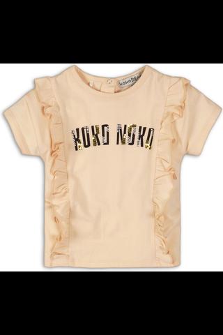 KokoNoko vauvojen frilla t-paita C34942