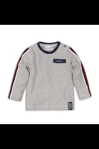 Dirkje lasten pitkähihainen raidallinen t-paita C34679