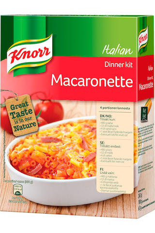 Knorr 243g Macaronette ateria-aines
