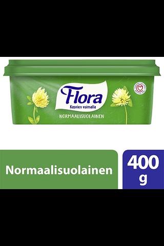 Flora 400g normaalisuolainen margariini 60