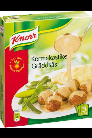 Knorr 3x31g Kermakastike kastikeainekset