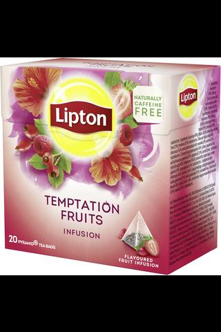 Lipton 40g Temptation Fruits pyramidi yrttitee 20ps