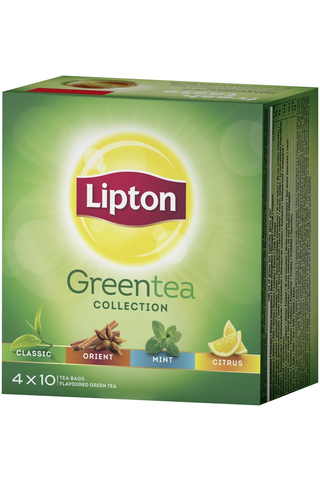 Lipton 52g Green Tea Collection vihreä teelajitelma 40ps