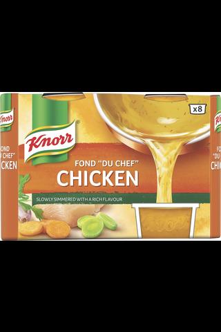 """Knorr Fond """"du Chef"""" Kana-annosfondi 8x28g"""