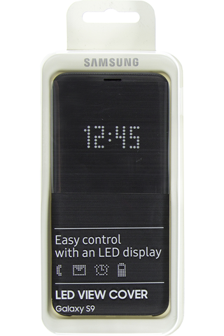 Samsung led view cover s9 black