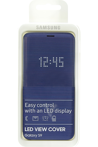 Samsung led view cover s9 blue