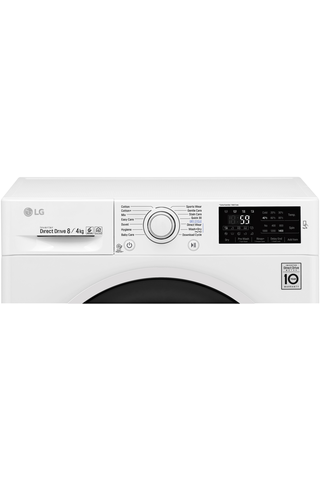 LG kuivaava pyykinpesukone W5J6AM0W Combo 8/4kg