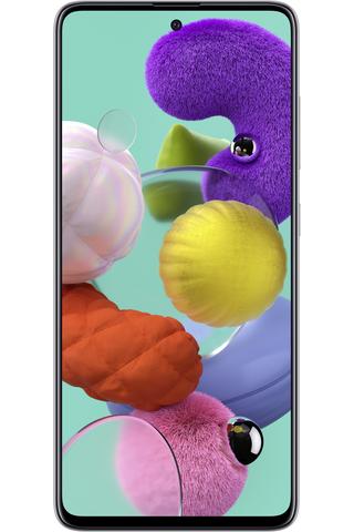 Älypuhelin Galaxy A51 128GB valkoinen