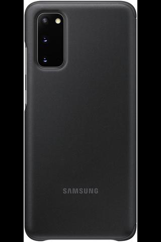 Samsung Galaxy S20 Clear View musta suoja