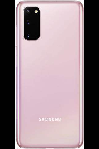 Samsung Galaxy S20 5G 128GB pinkki älypuhelin
