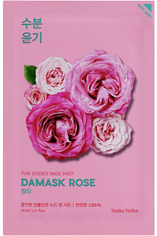 Holika Holika Pure Essence Damask Rose kangasnaamio 20ml