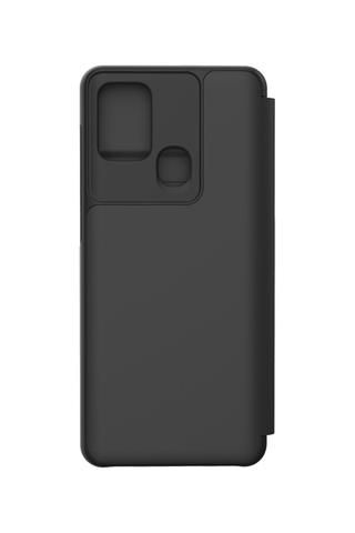 Suoja Wallet Flip Cover A21s musta