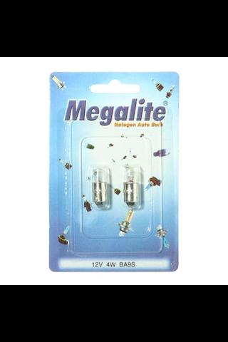 Megalite autolamppu 12929 12V 4W 2kpl