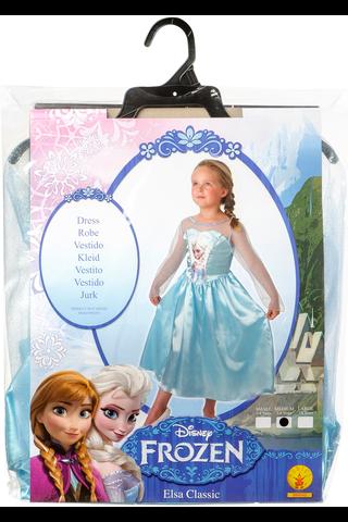 Frozen Elsa lumikuningatarpuku, koko 116