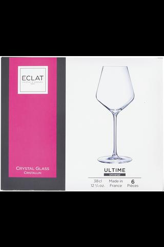 Eclat Ultime viinilasi 38 cl 6 kpl/pkt