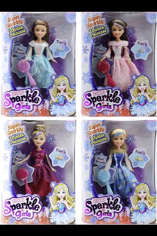 Sparkle Girlz talviprinsessa deluxe pakkaus