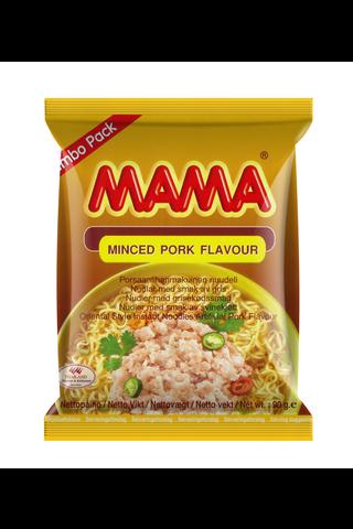 Mama 90g Porsaanlihanmakuinen nuudeli