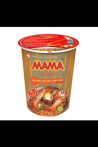 Mama 70g Creamy Tom Yum kuppinuudeli