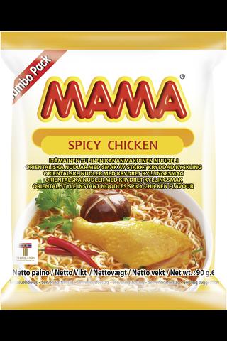 Mama 90g nuudeli kananmakuinen tulinen