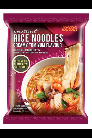 Mama 55g Creamy Tom Yum riisinuudeli