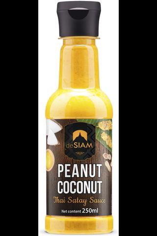 DeSiam 250ml maapähkinä-kookoskastike