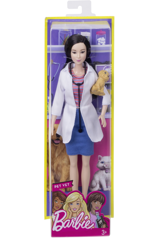 Barbie Careers core doll asst dvf50
