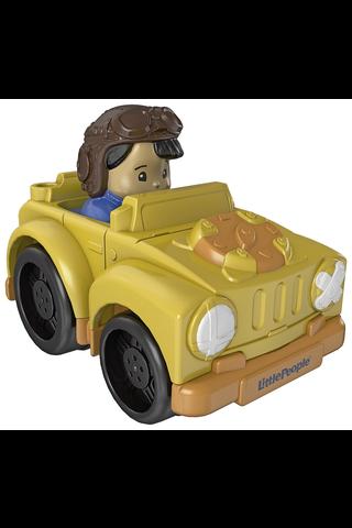 Fisher-Price Little People Wheelies ajoneuvot 18kk+ lajitelma