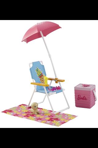 Barbie pihakalusteet tarvikesetti lajitelma