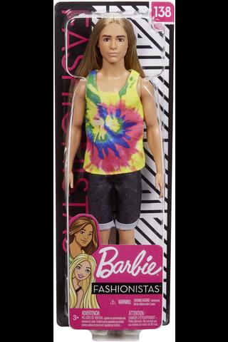 Barbie Fashionistas Ken nukke