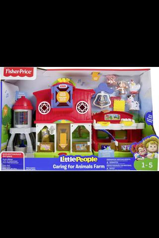 Fisher-Price Little People maatila interaktiivinenlelu 1v+