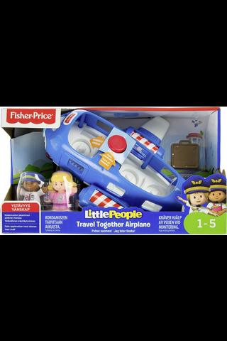 Fisher-Price Little People Travel Together lentokone 1v+