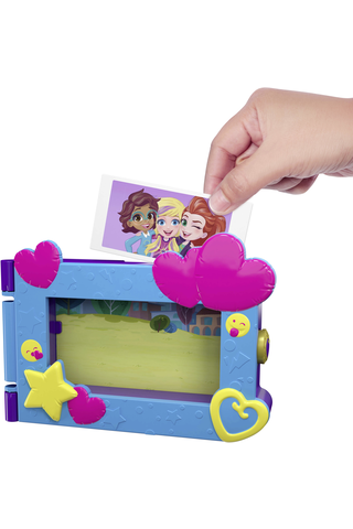 Polly Pocket Say Freeze leikkisetti FRY96 näyttämö