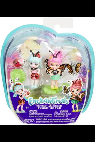 Enchantimals Bug Buddies mininukke ja ötökät 2kpl FXM86