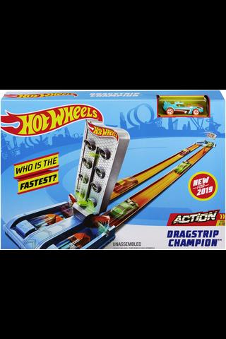 Hot Wheels ratasetti Action Dragstrip Champion kiihdytyskisa GBF82