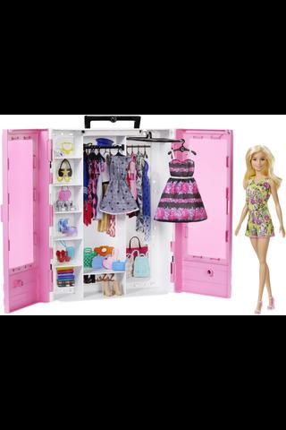 Barbie Ultimate vaatekaappi ja Barbie nukke