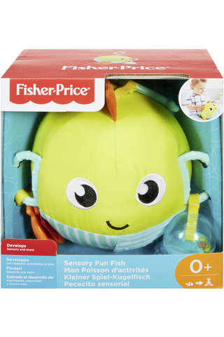 Fisher-Price aktiviteettilelu Sensory Fun Fish kala GFC36 0kk+