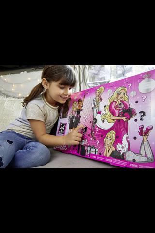 Barbie joulukalenteri Gff61