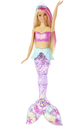 Barbie Nukke Merenneito valoilla GFL82