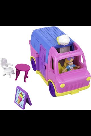 Polly Pocket Pollyville vehicle asst. ggc39