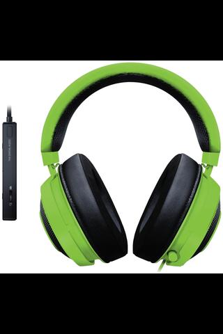RazerKraken Tournament PC pelikuulokkeet, vihreä