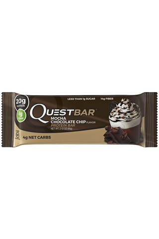 Questbar Mocha Chocolate