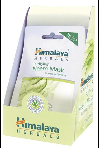 Himalaya Herb 2x7,5ml puhdistava Neem naamio