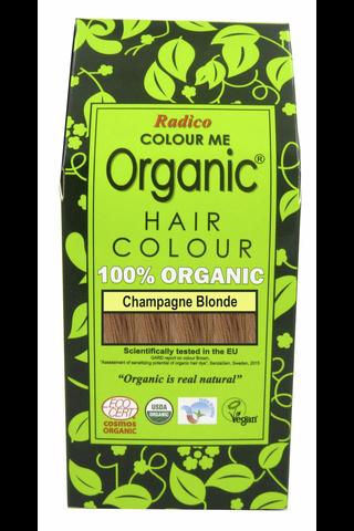 Radico 100g hiusväri mansikkablondi colour me organic