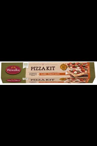 Wewalka 600g Pizza Kit pizzataikina tomaattikastikkeella