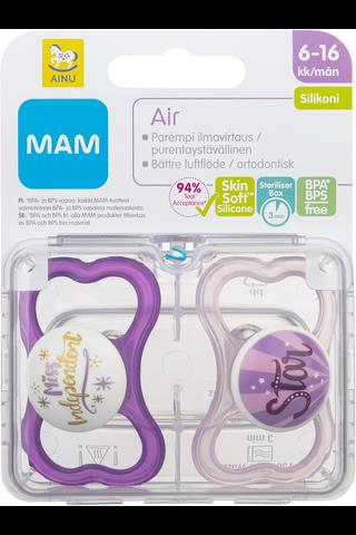 Ainu Mam Air tutti 2kpl, silikoni 6-16kk