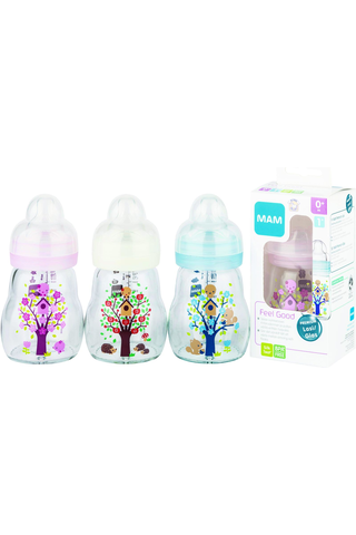 Ainu Mam Feel Good lasinen tuttipullo 170 ml