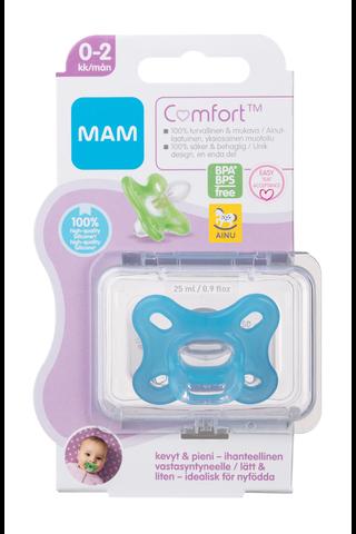 Ainu Mam Comfort 0-2kk silikonitutti