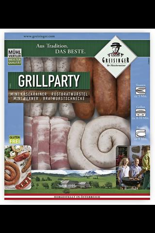 Greisinger 450g Grill Party grillimakkaralajitelma