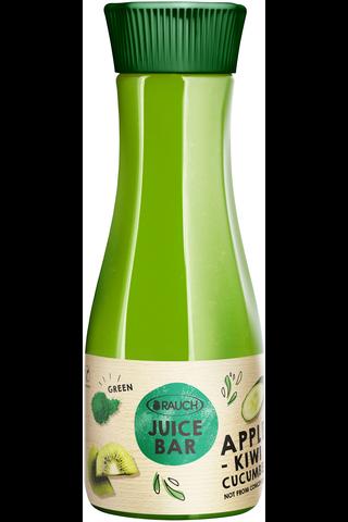 Rauch Juice Bar 800ml Kurkku-kiivi-spirulina mehu